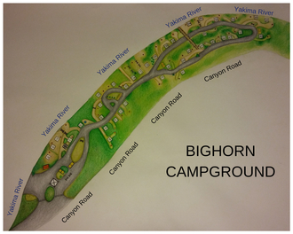 Bighorn Campground Map