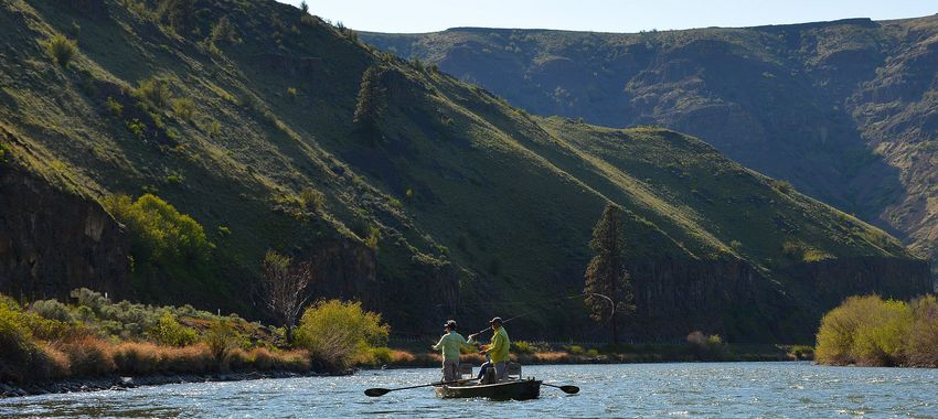 guided fly fishing in the yakima river canyon